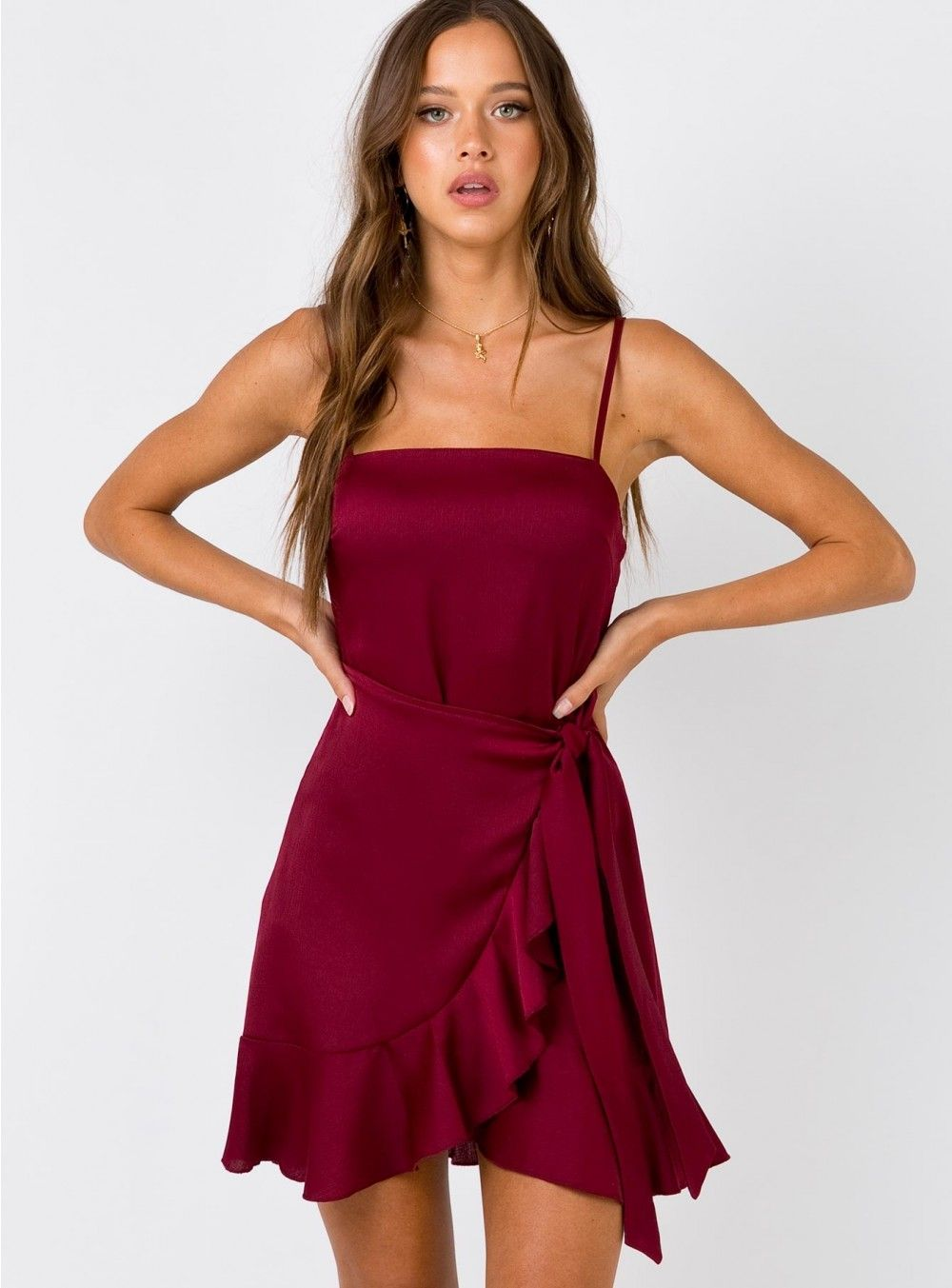 Aleutian Mini Dress Wine Mini Dress Short Dresses Red Homecoming Dresses