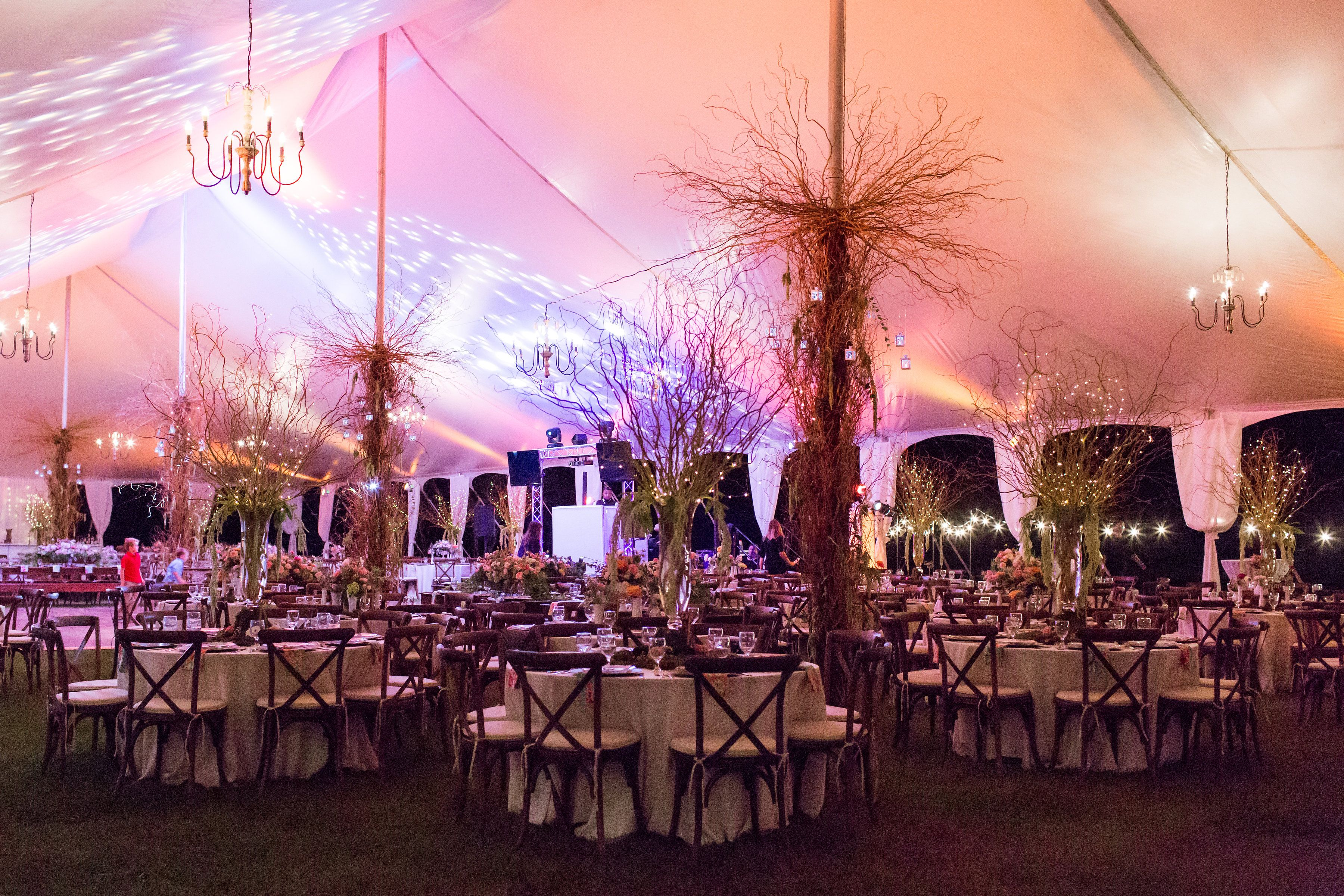 Larger Than Life Centerpieces Wedding Rentals Decor