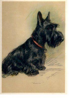 "2 Welsh Corgi dogs /& Sailboat ~ Art Smith ~ 8 1//2/"" x 11/"" print"