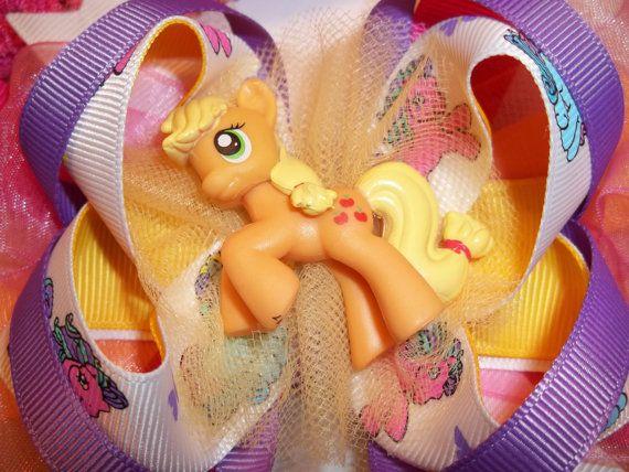My Little Pony Hairbow with Headband by AlesandrasCloset on Etsy, $15.00