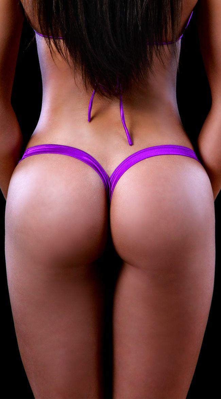 Ass g string thong