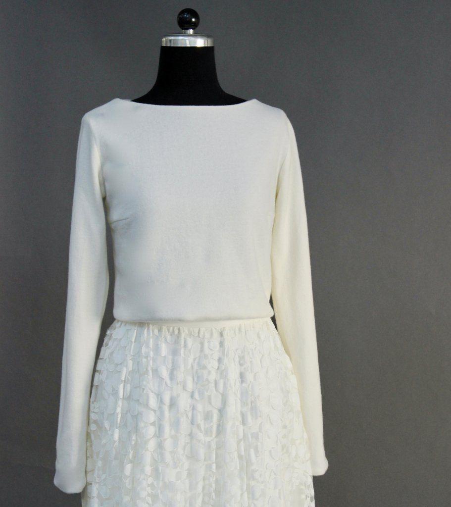 Braut Pullover zum Hochzeitskleid - Aliz in 2020 ...