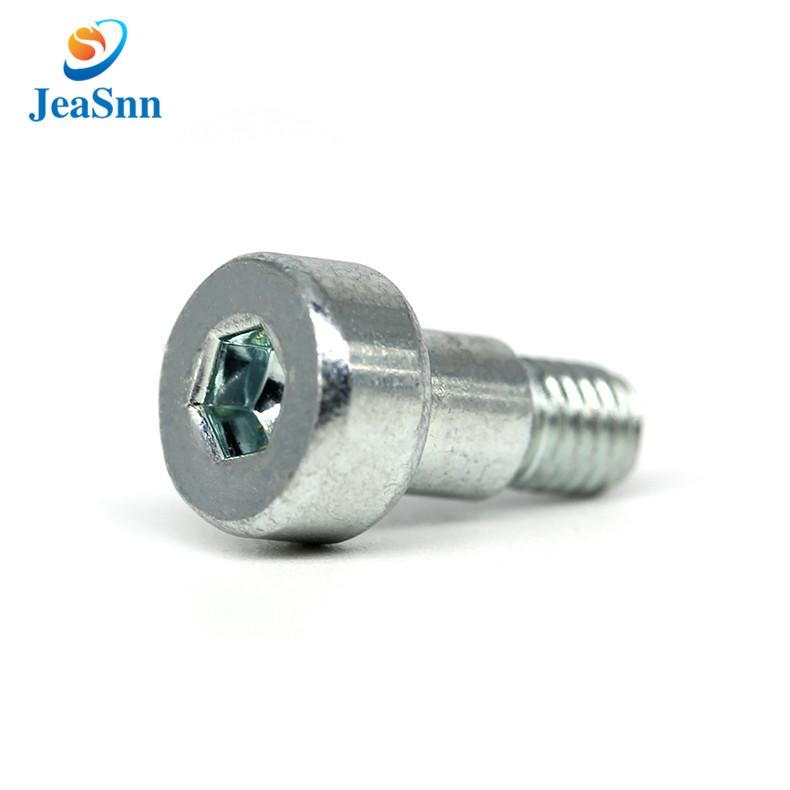Precision Socket Shoulder Screws For Electrical Industry China Precision Socket Shoulder Screws For Electric Zinc Plating Electrical Equipment Nickel Plating