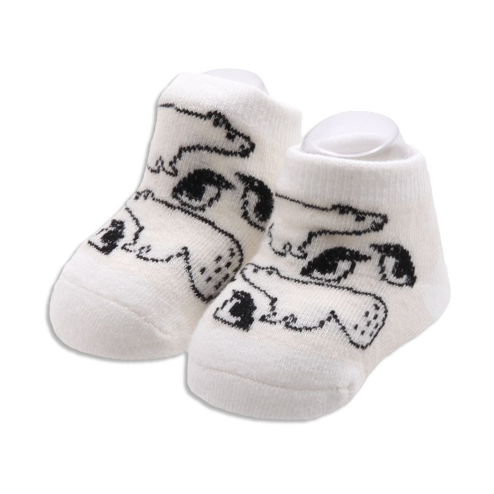 Baby's Arctic Friends Socks - White