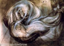 HR Giger Art Poster Print Metamorphosis P7 Biomechanical Baphomet Alien Species