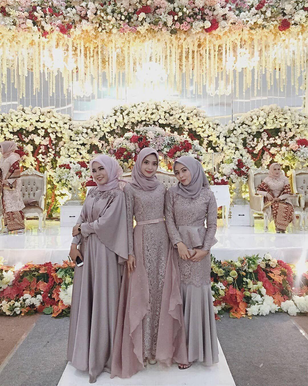 "Dress Gaun Bridesmaids Hijab on Instagram: ""Inspiration from"