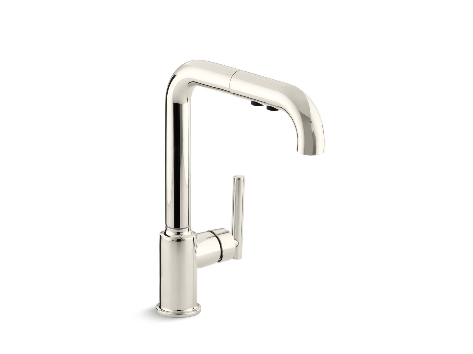 Purist Single Handle Pullout Spray Kitchen Sink Faucet K