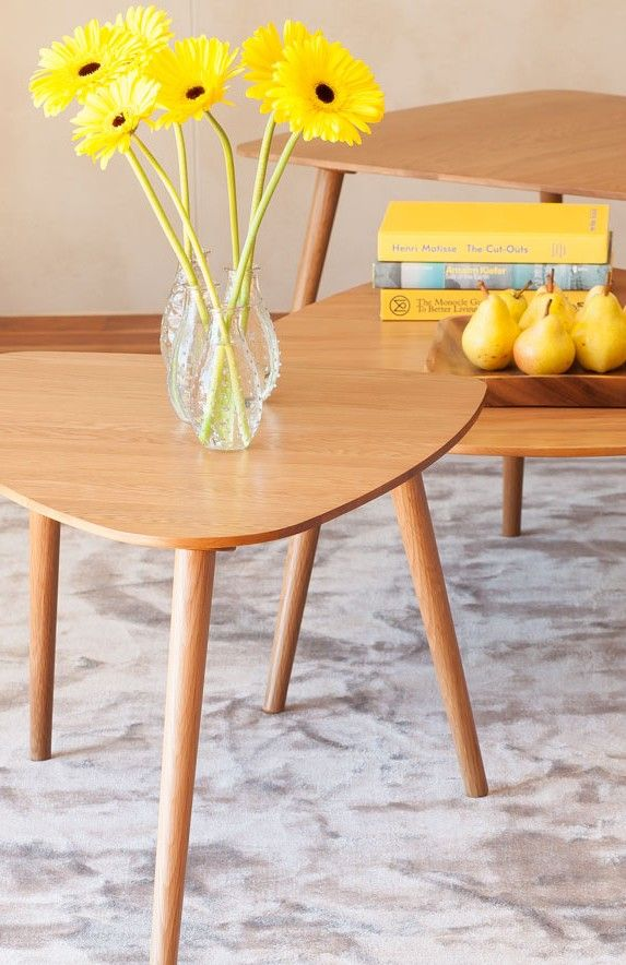 A Mid Century Modern Design The Amoeba Coffee Table Offers A