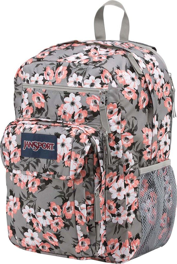 Jansport Digital Student Backpack - Coral Sparkle Pretty Posey ... f15e1c075a