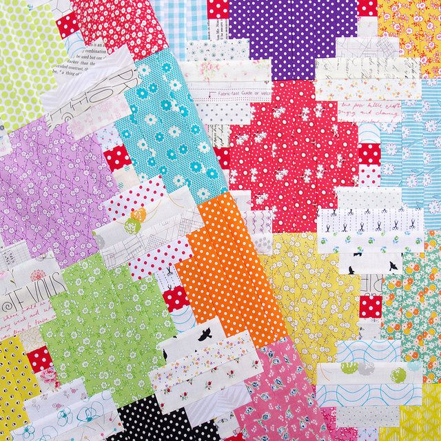 Courthouse Steps Quilt and Tutorial   Red Pepper Quilts   Quilt It ... : free courthouse steps quilt pattern - Adamdwight.com