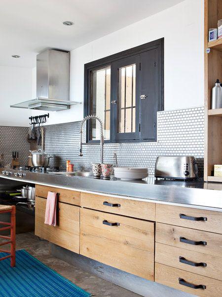 Gu a imprescindible para reformar la cocina cocina - Encimera de madera para cocina ...