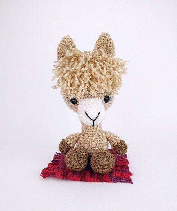 PATTERN: Lucy the Llama - Crochet llama pattern - amigurumi llama ...