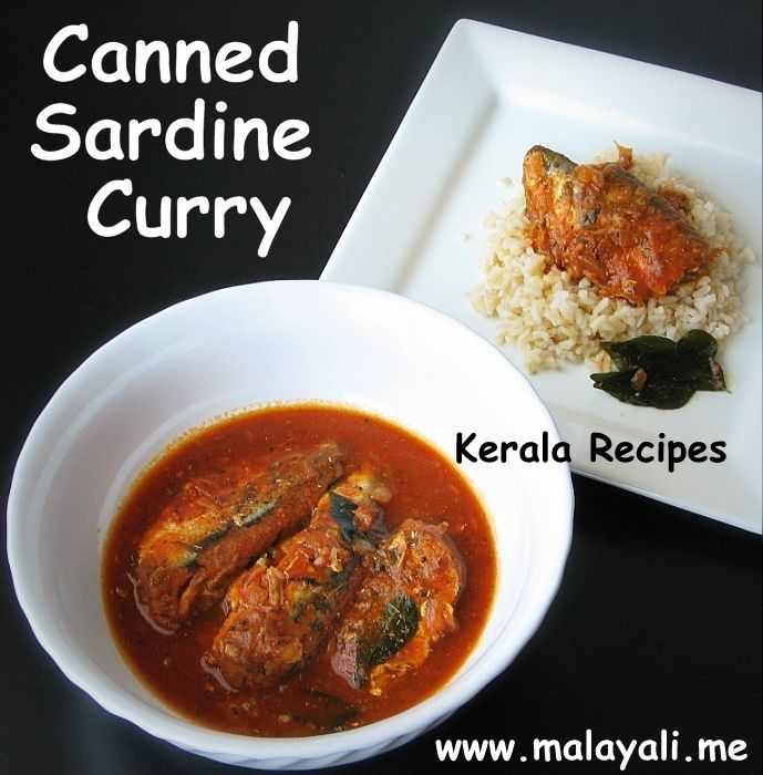 Paleo Quick Sardine Curry