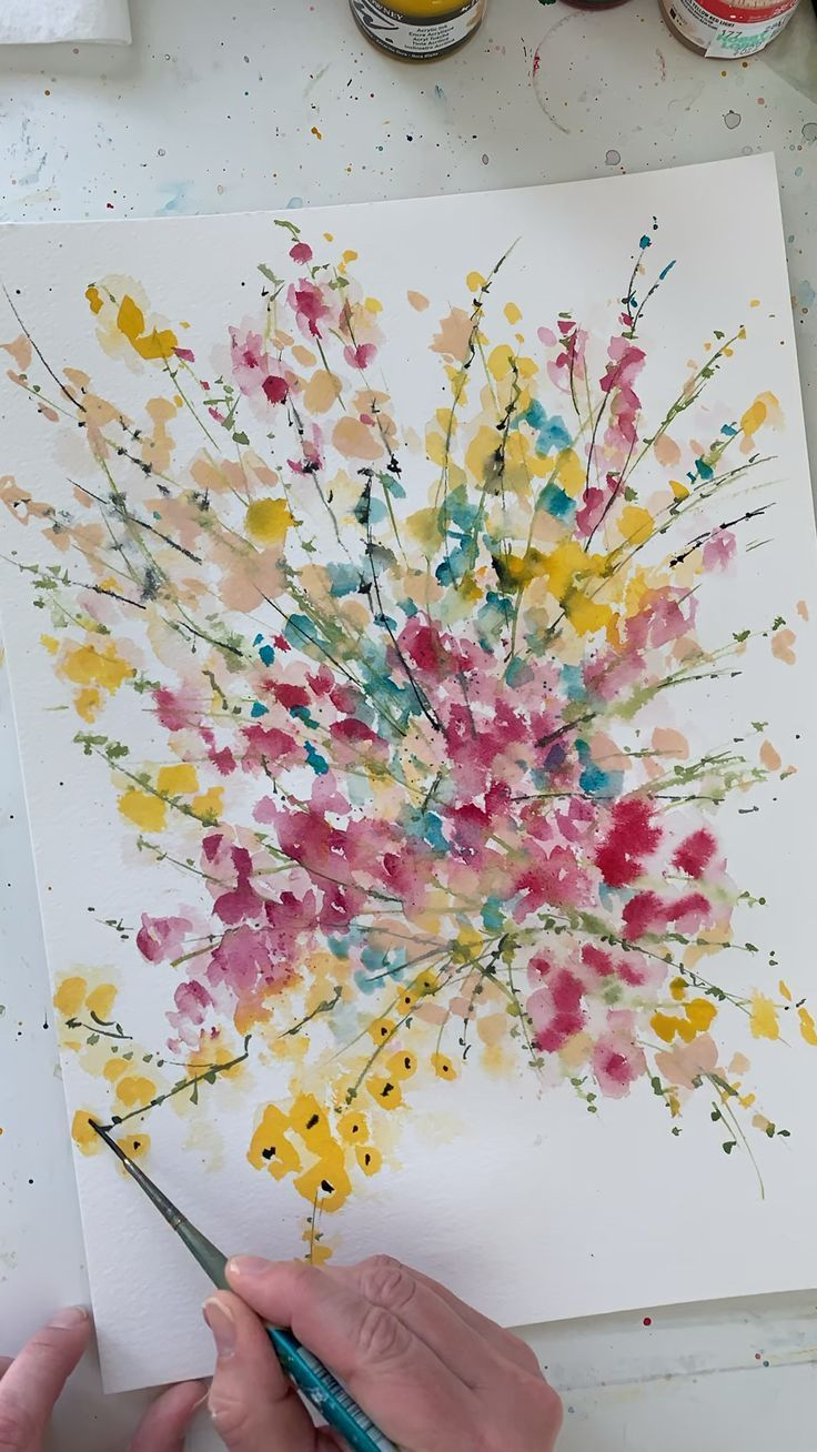 Pin By Naternot On Gifts Watercolor Paintings Tutorials Diy