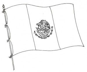 Bandera De Mexico Chida Para Colorear Bandera De Mexico Imagenes Imagenes De Banderas Mexico Bandera