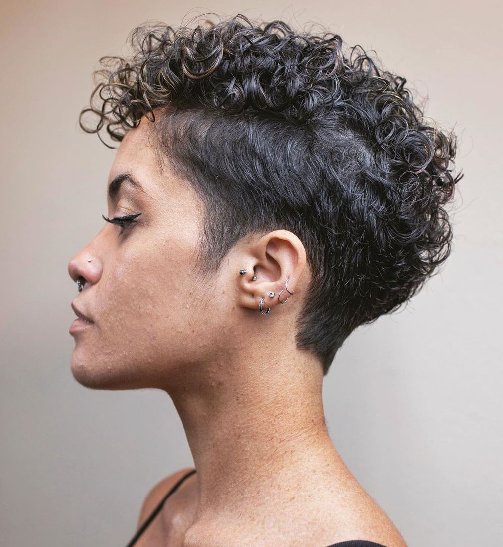 50 Best Haircuts and Hairstyles for Short Curly Ha