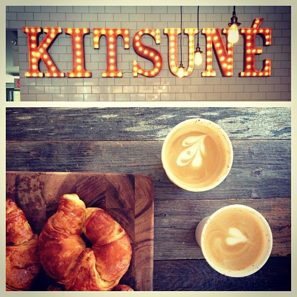 Kitsune Espresso Bar Montreal Coffee Eat Cafe Great Coffee Espresso Bar