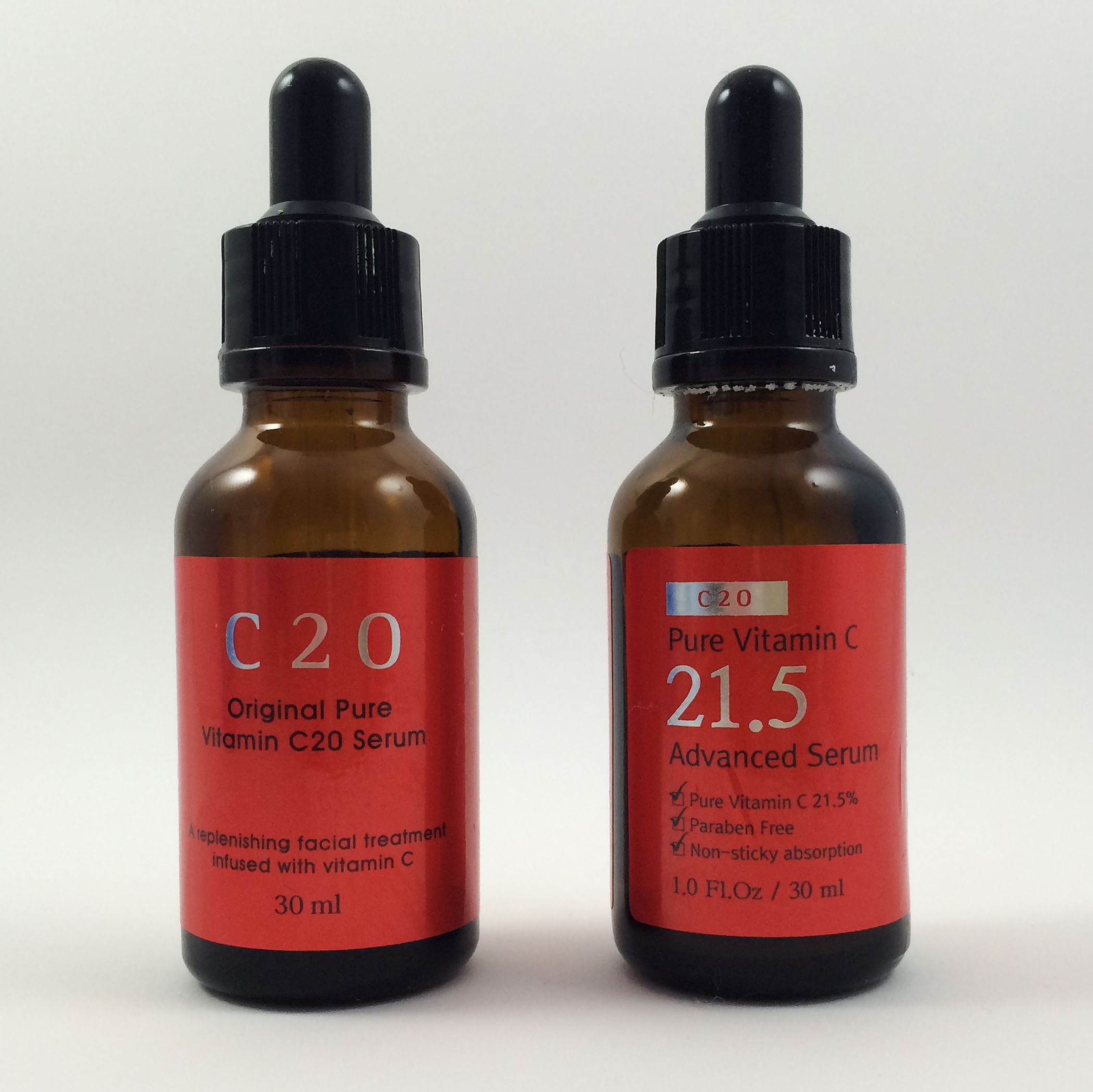 In this review I compare Korean vitamin c serums C20 and