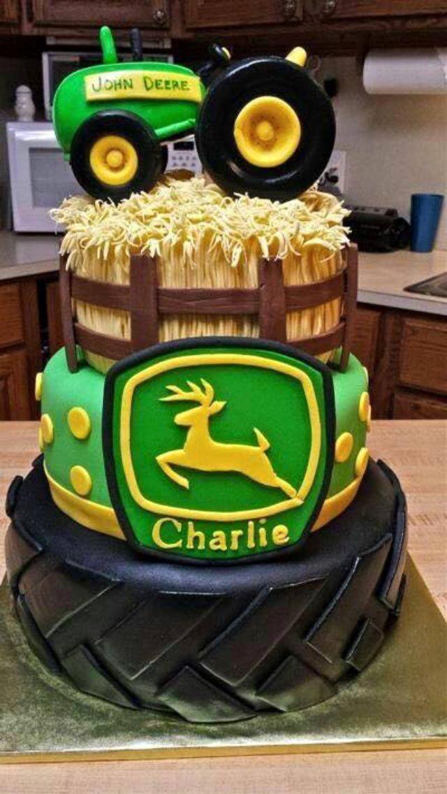 Pin On John Deere Cakes