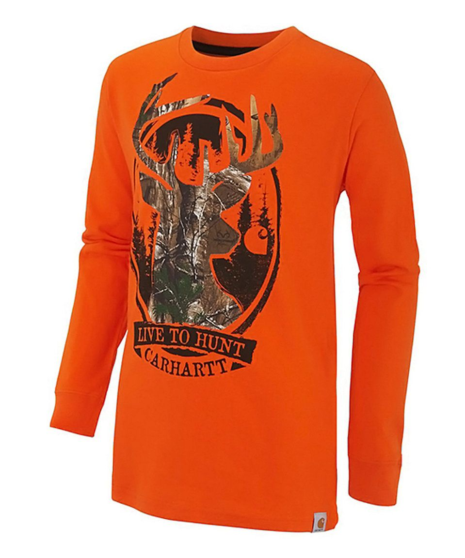 c2a1e52ada Take a look at this Carhartt Orange   Realtree Xtra® Camo  Live to Hunt