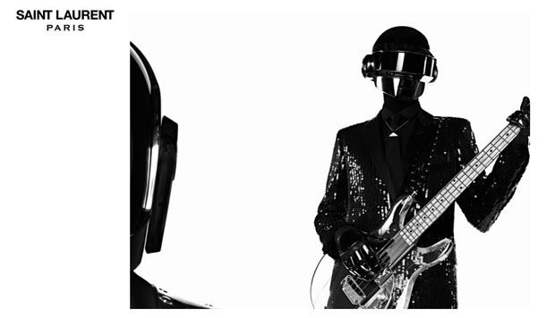 Daft Punk for Saint Laurent