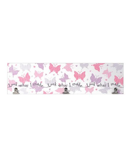 Look What I Made Butterfly Three-Clip Panel | zulily