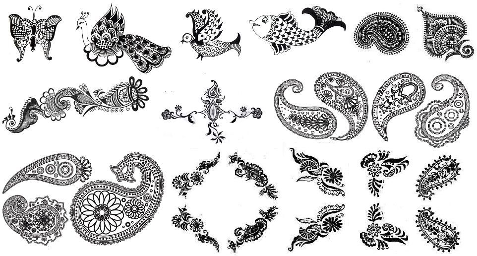 Mehndi Henna Symbols : Image gallery mehndi symbols