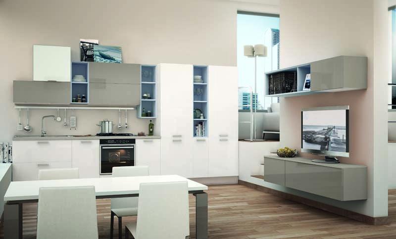 NOEMI - Cucina Lube Moderna | Attualità, Libertà e Cucine