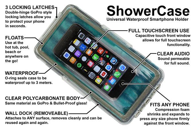official photos 077f7 60ba5 World's first universal waterproof smartphone holder. Safely ...
