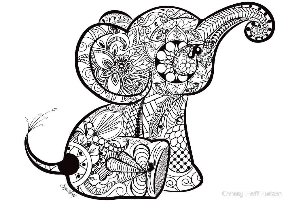 Pin Von Anne Sophie Vilain Auf Heat Vinyl Mandala Tiere Blumenzeichnungen Mandala Zum Ausdrucken