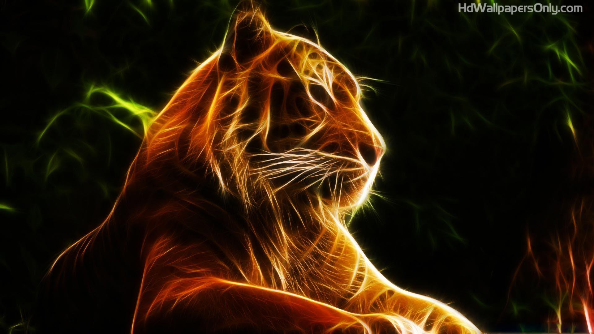 Animated wallpaper | Tiger wallpaper, Animals, Abstract animals