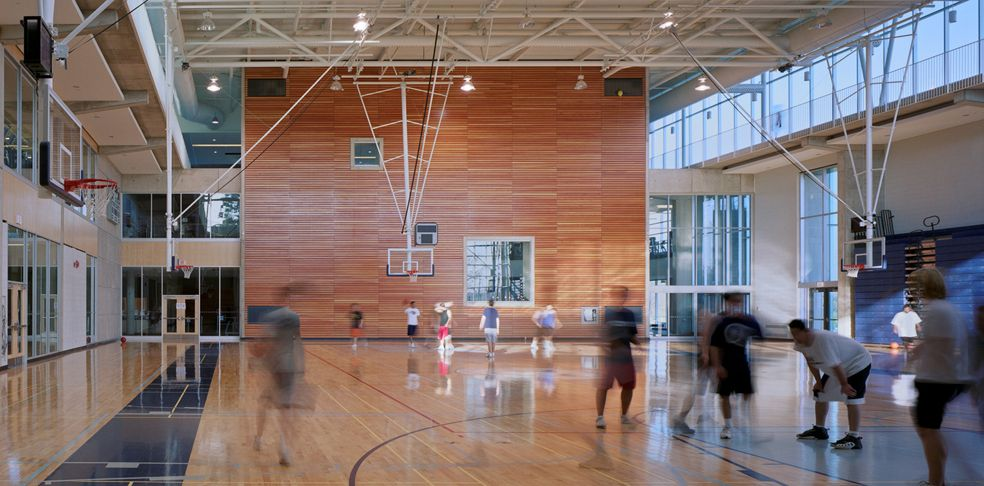 Recreation, Wellness and Athletics Centre Perkins+Will