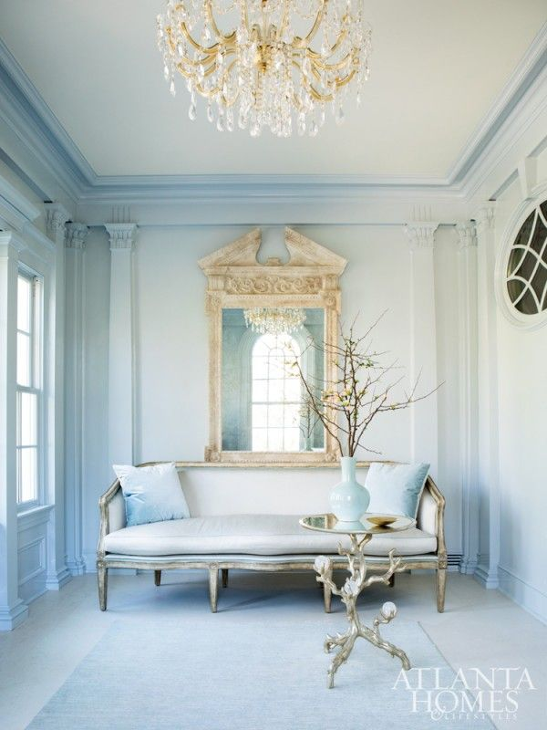southern elegance french chateau room and interiors - French Interior Design Blogs