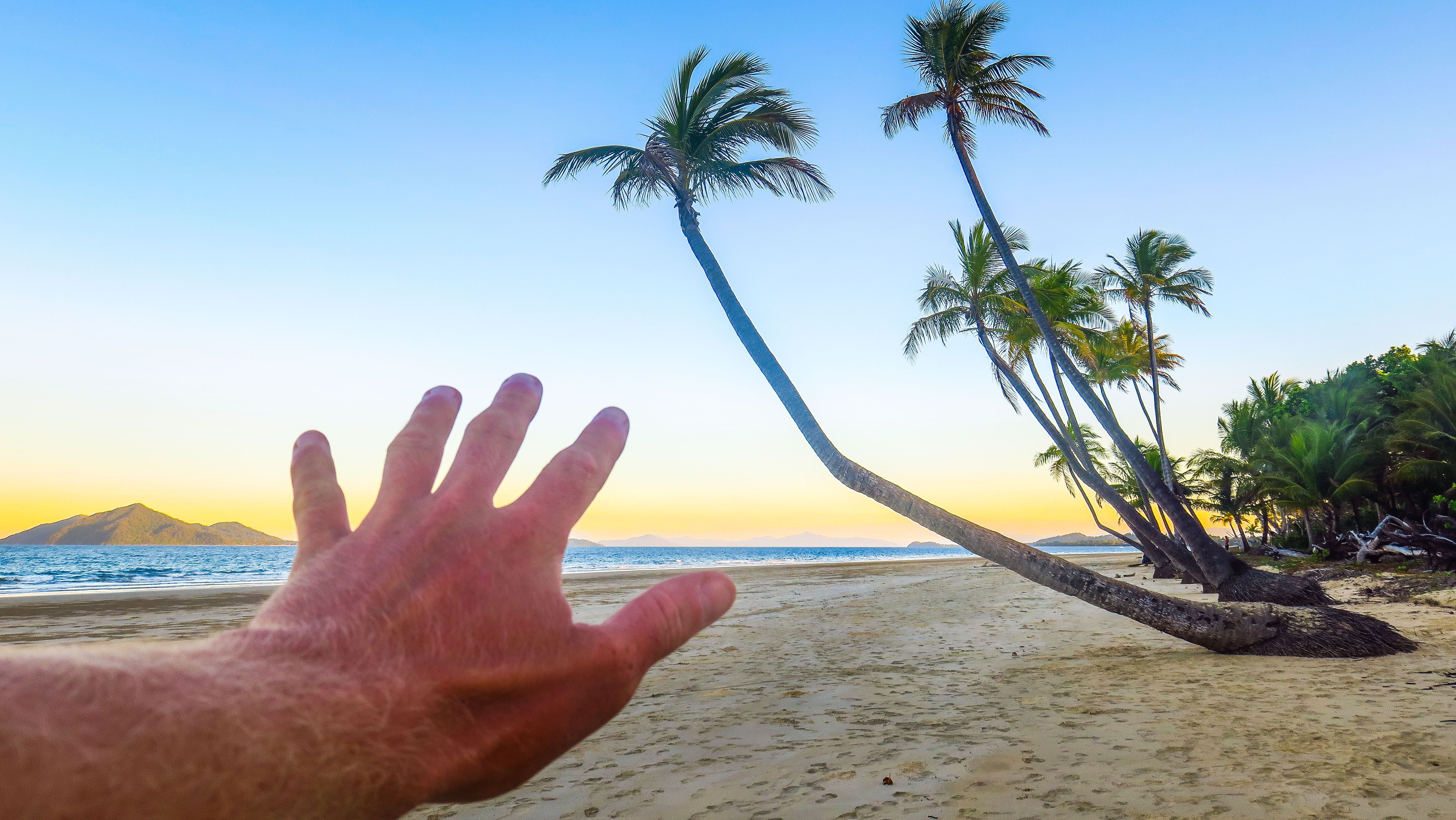 The Hand in Mission Beach