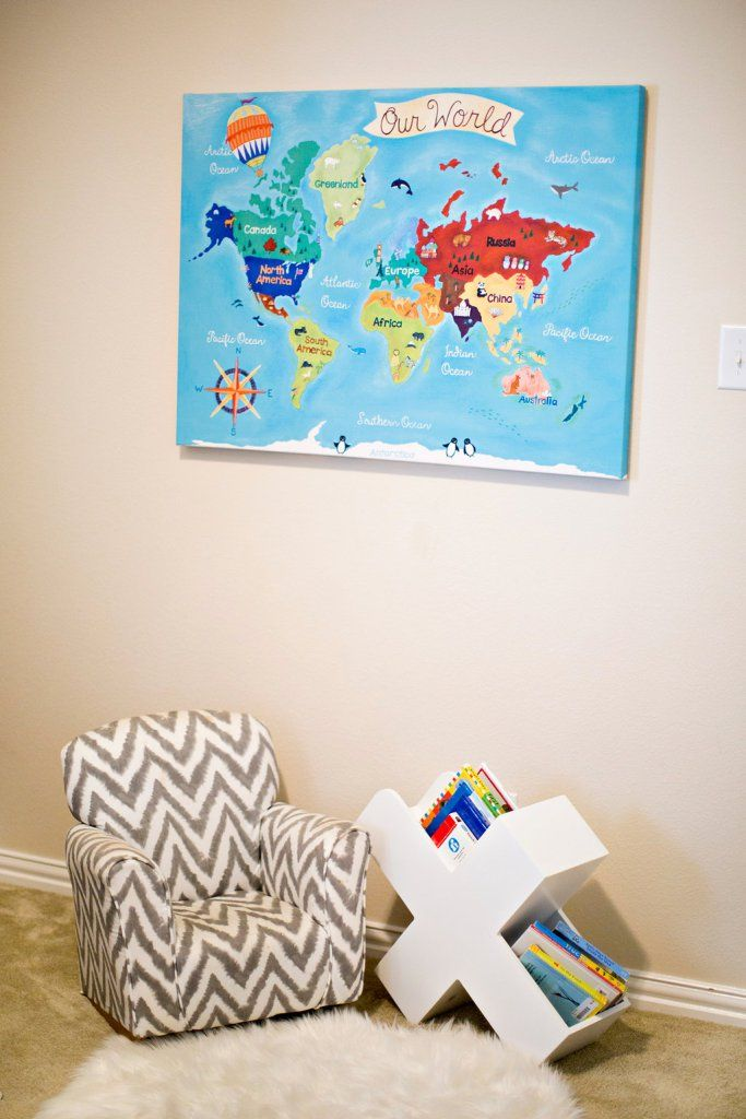 Map kids room kids bookcase kids rocking chair gray boy bedroom map kids room kids bookcase kids rocking chair gray boy bedroom world map canvas gumiabroncs Gallery