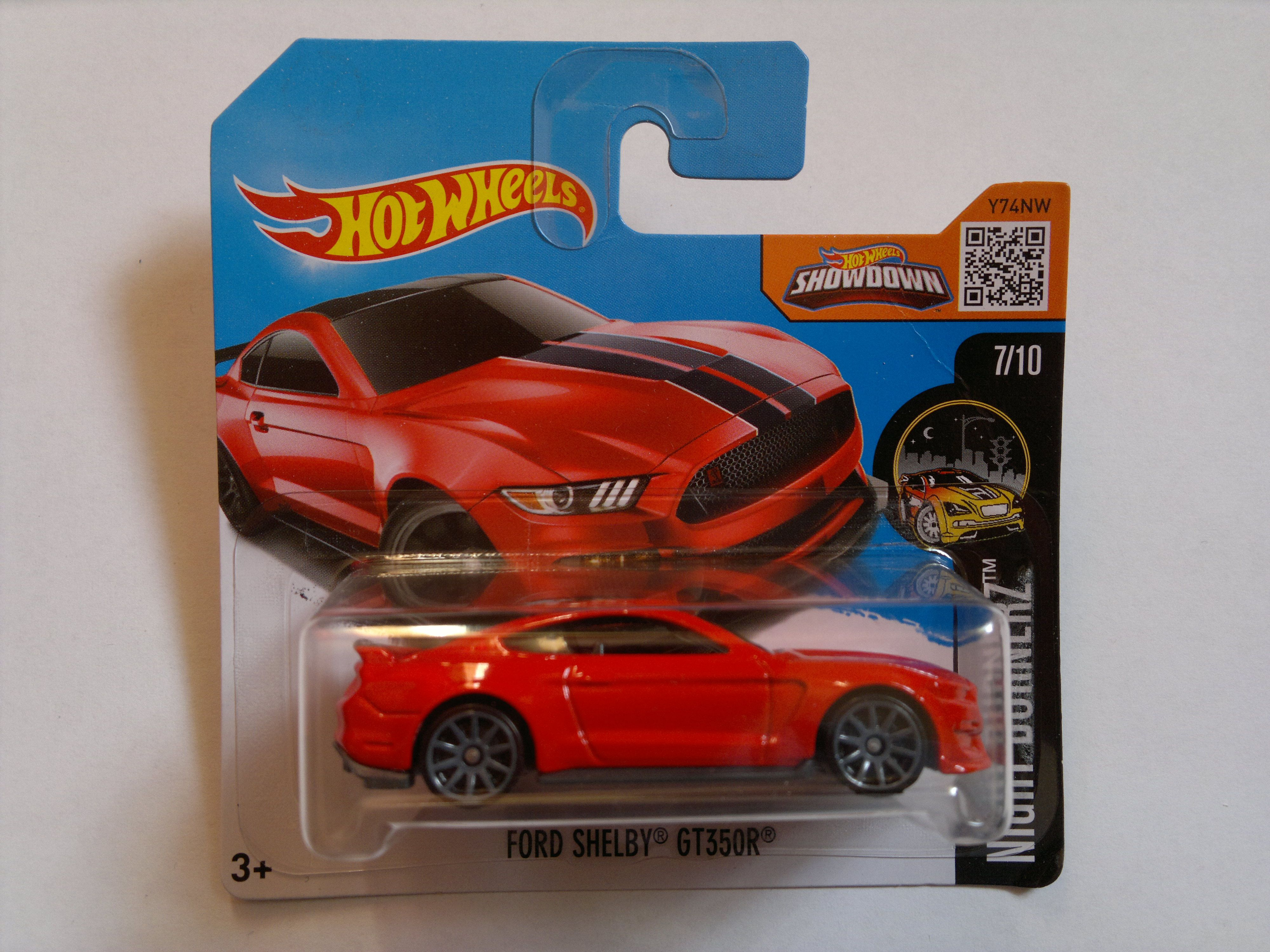 2016 - FORD Mustang ´2015 Shelby GT350R (Hot Wheels)