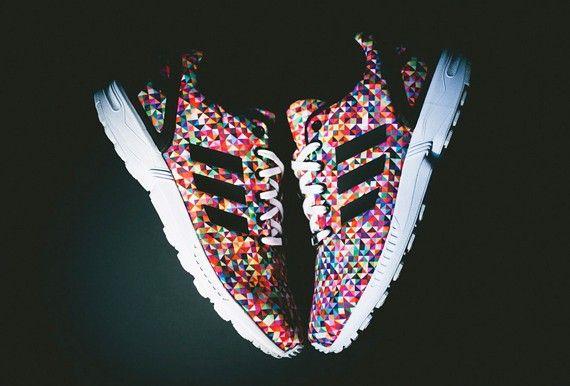 zx flux adidas arlequin