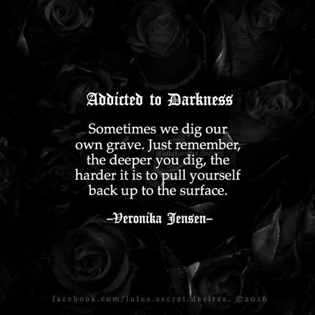 Dark Quotes About Depression: Veronika Jensen @lulus.secret