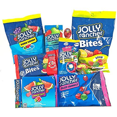 american jolly rancher sweet hamper gift box usa hard