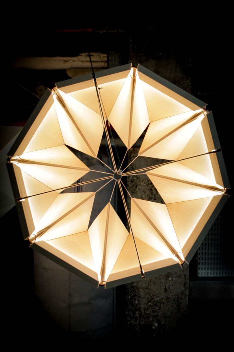 An Adjustable Moving Lamp Inspired By Movements In Nature Lamp Lamp Design Pendant Lamp