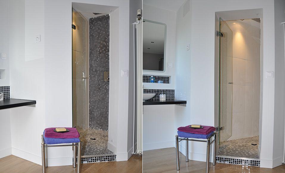 Comment Creer Un Espace Douche Dans Une Chambre Parentale Douche Dans La Chambre Douche En Coin Chambres Parentales
