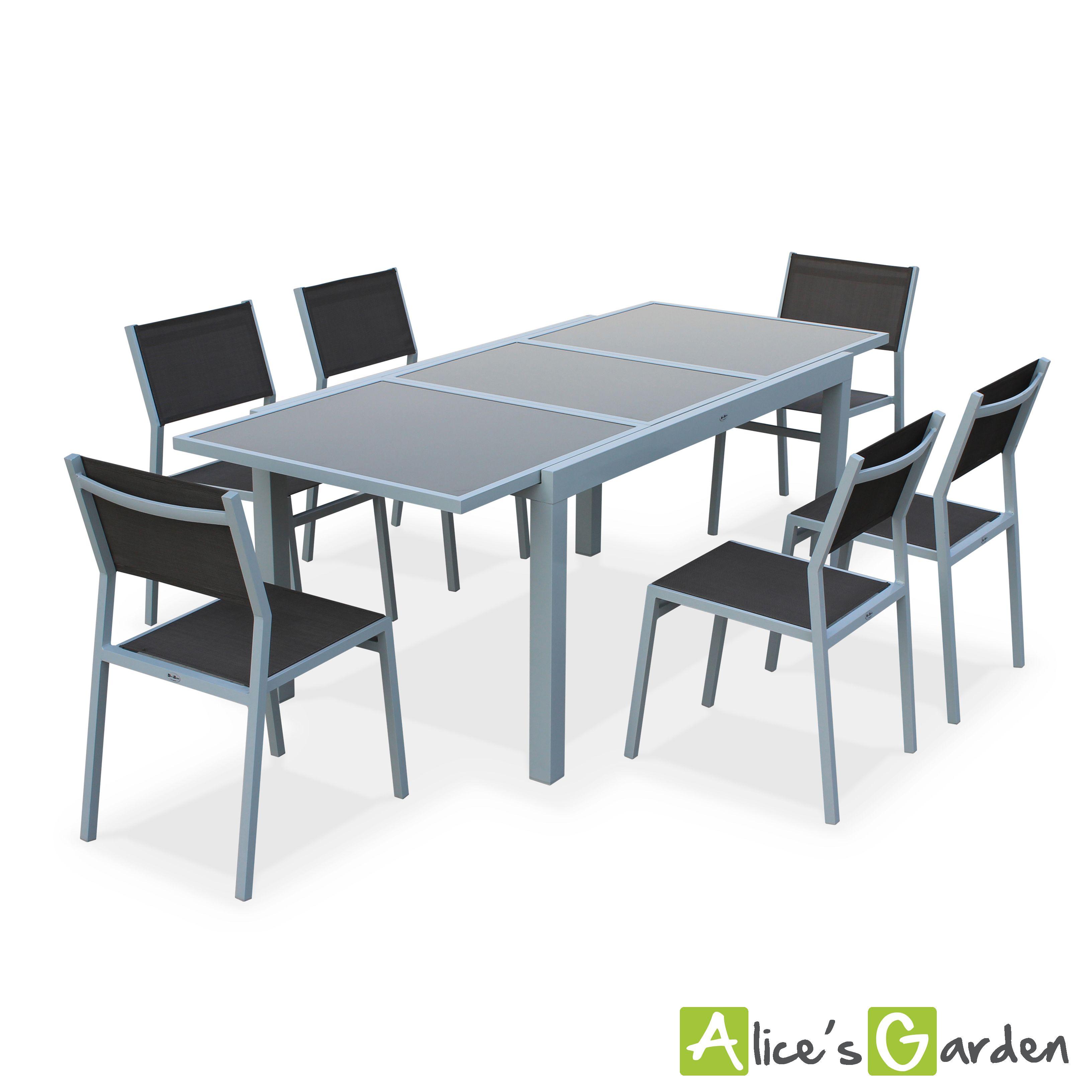 Emejing Table De Jardin Extensible En Aluminium Contemporary ...