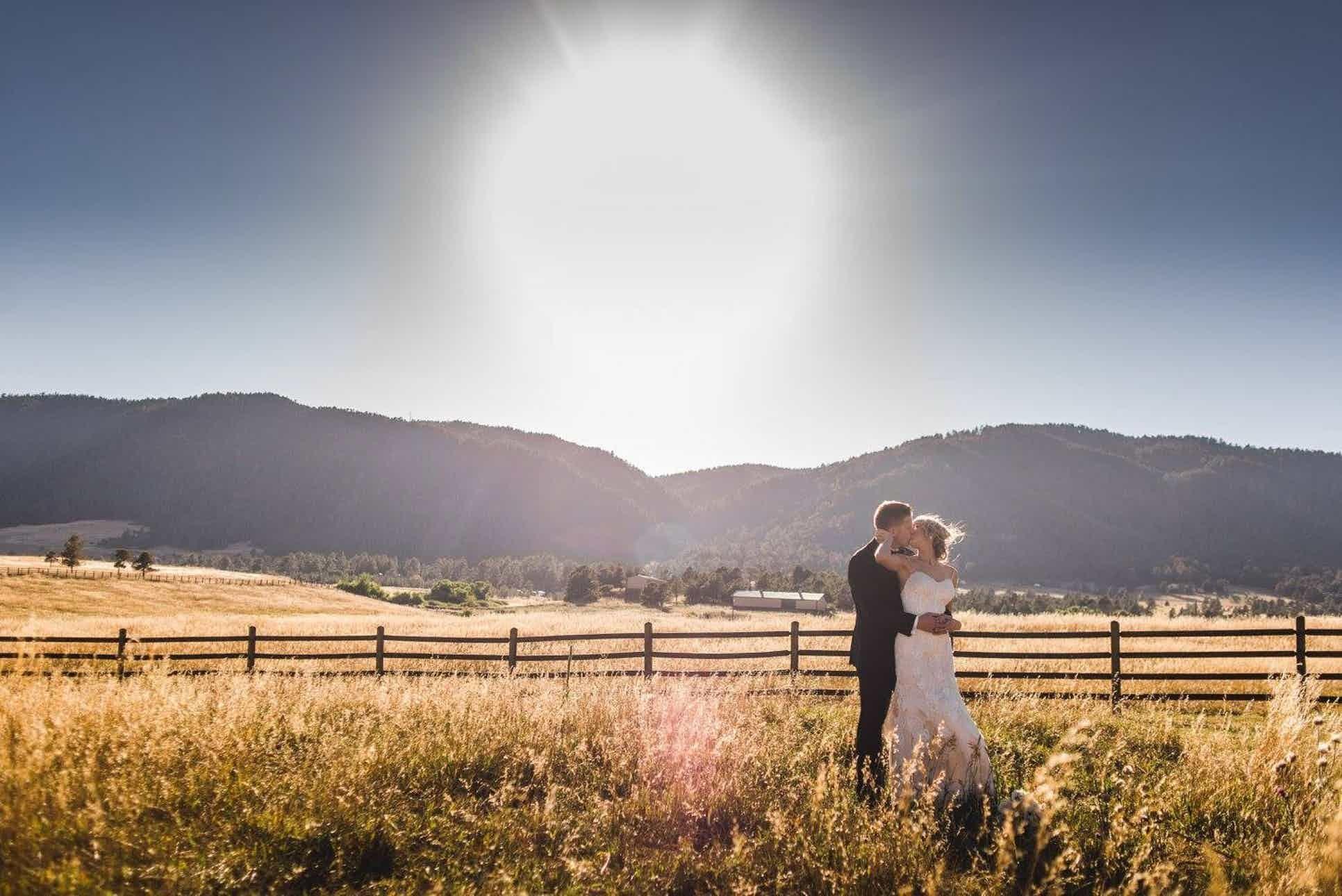 Spruce Mountain Ranch Weddings Colorado Springs Wedding