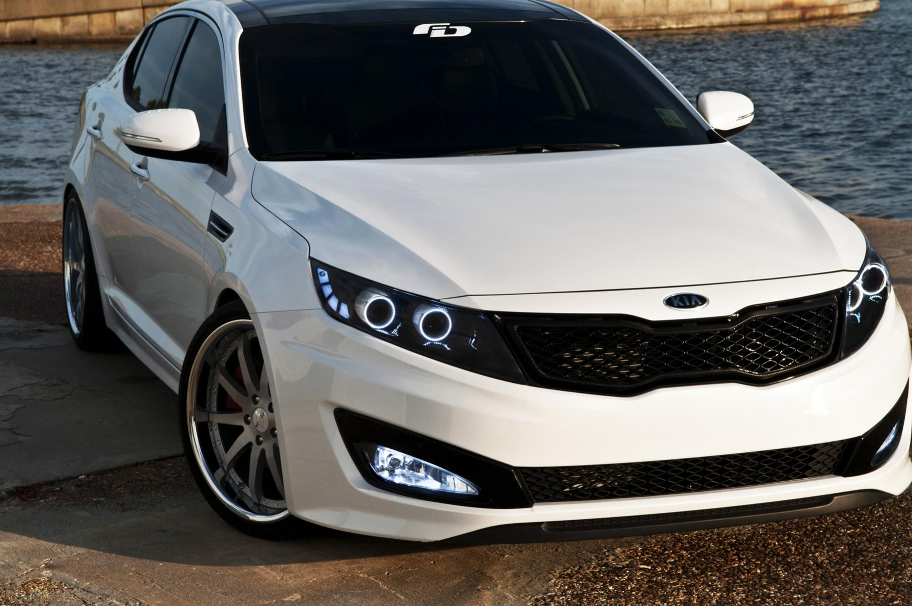 Fusion Design Headlights Want These On My Car Kia Optima Kia Kia Motors