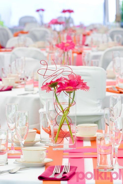 Aranzacje Kwiatowe Na Stol Flower Centerpieces Wedding Wedding Table Wedding Stationery