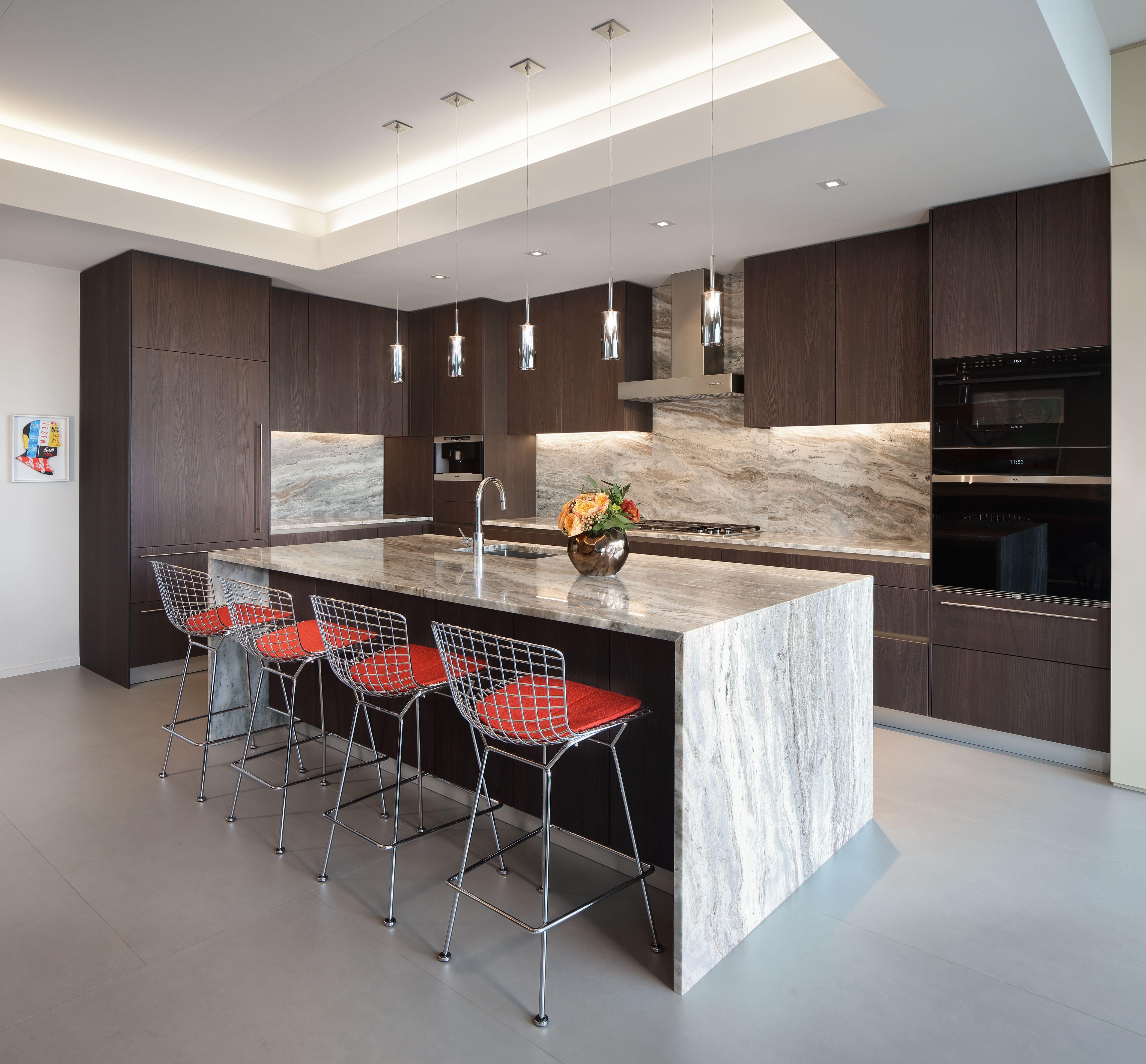 Modern kitchen featuring Snaidero WAY Coffee Elm   Designer ...