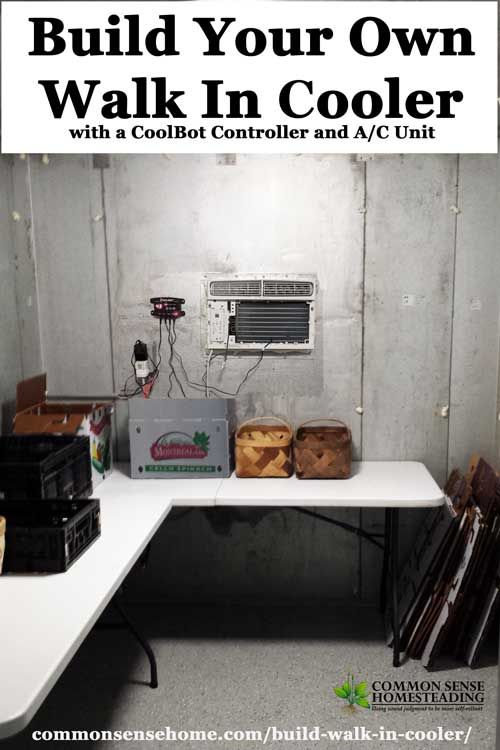 Build Your Own Walk In Cooler On A Budget Survival Cold Room Cooler