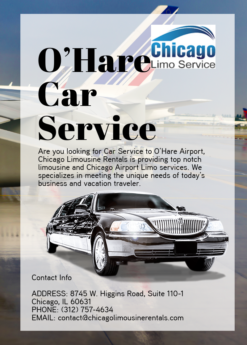 O Hare Car Service Limousine Rental Airport Limo Service Airport Car Service