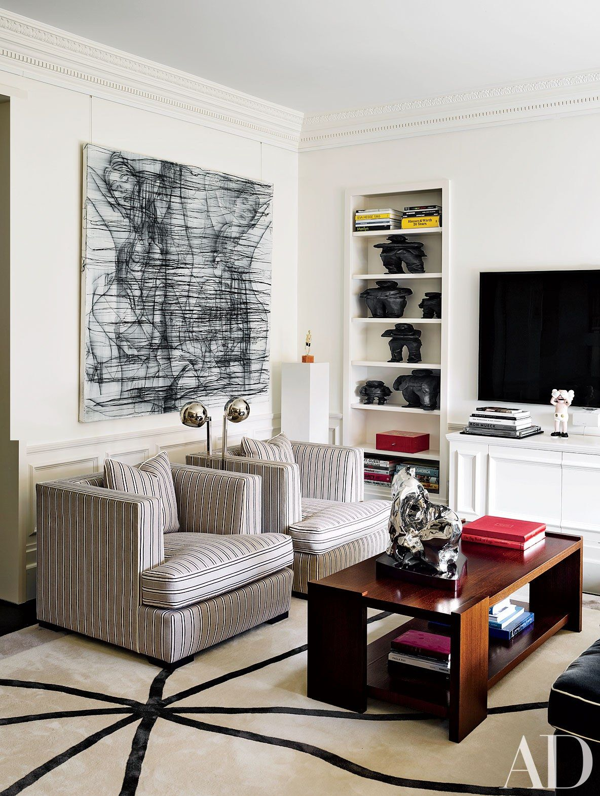 Bold Designs by French Decorator François Catroux Photos | Architectural Digest