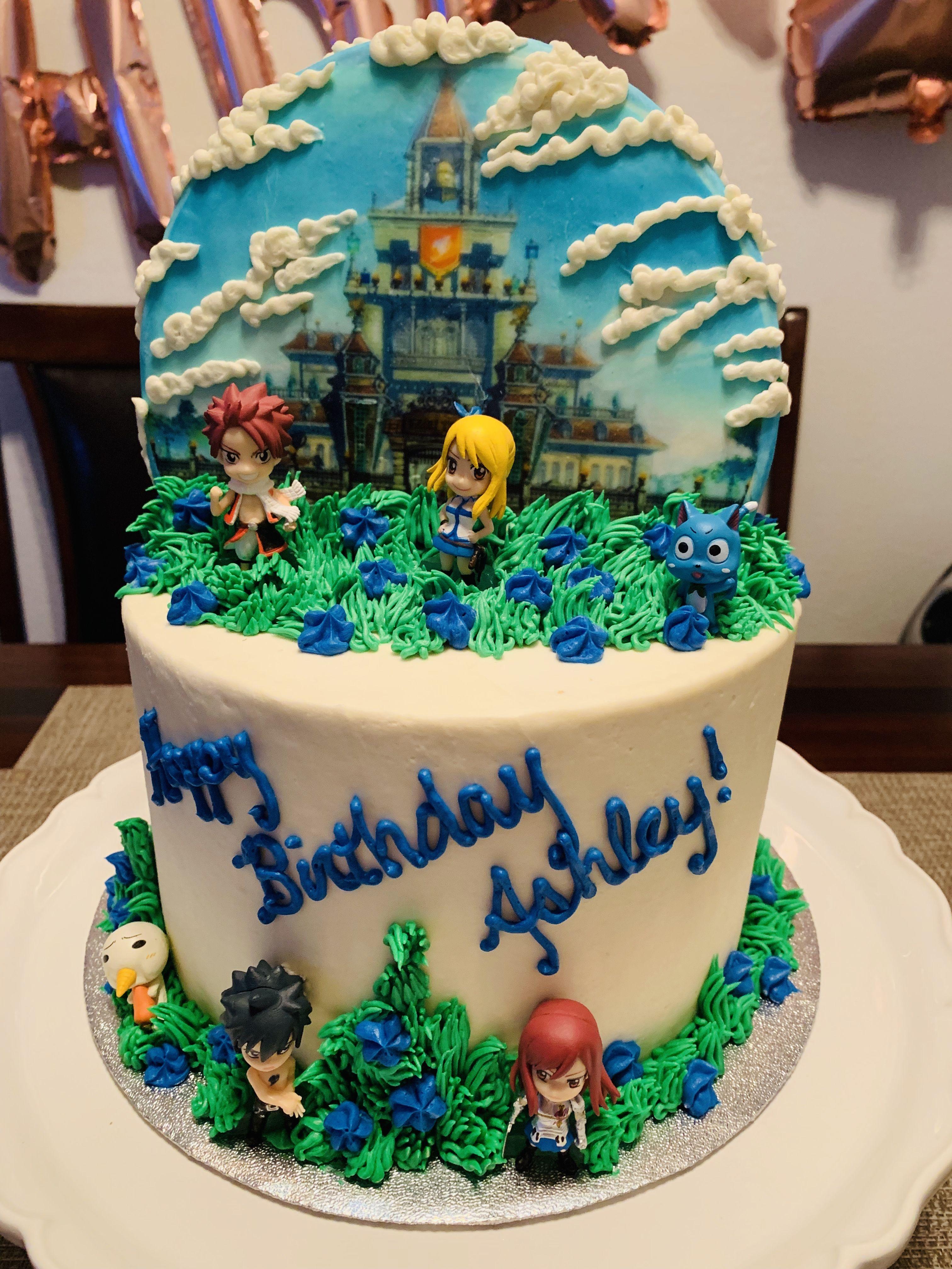 fairytailcake Cake, Desserts, Birthday cake
